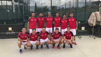 El equipo de Elite Pádel, en una imagen de archivo.