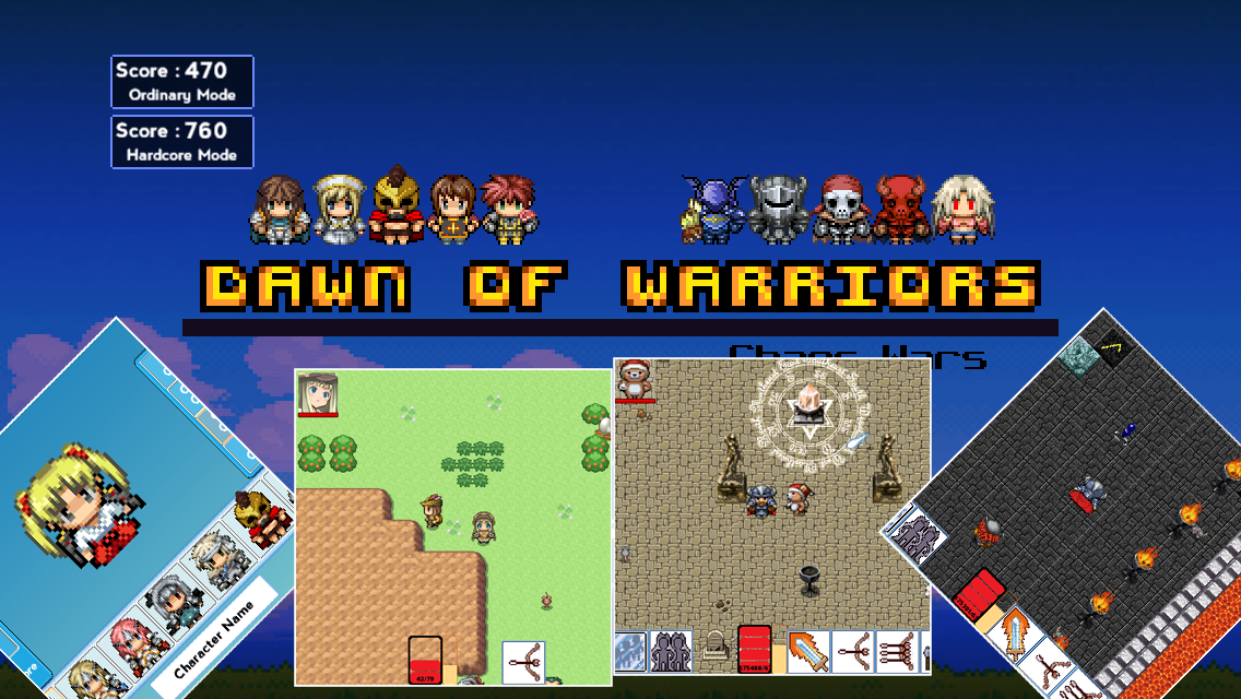Dawn of Warriors- screenshot