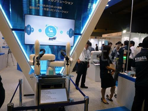 展示会 インテックス大阪 産業ロボット開発技術展 その11 ケイエフ