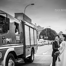 Wedding photographer Paco Ruiz (pacoruiz). Photo of 15.06.2015