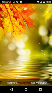 Autumn Leaves Live Wallpaper screenshot 2