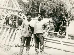 Photo: 2 amigos de la época. en Paris (Constitucion) Francisco y Juan Antonio Rios.