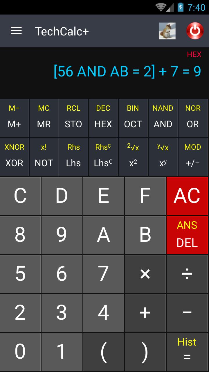 Scientific Calculator (adfree) Screenshot 3