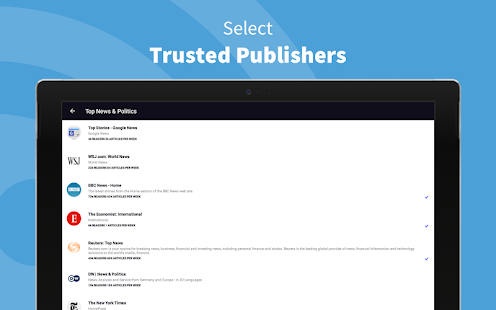 Inoreader - RSS & News-Reader Screenshot