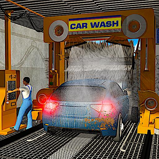 Smart Car Wash Service: Gas Station Car Paint Shop