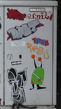 Photo: Kabelverteiler; Stickerparade; TRIEB DAST BLINDON META et al.