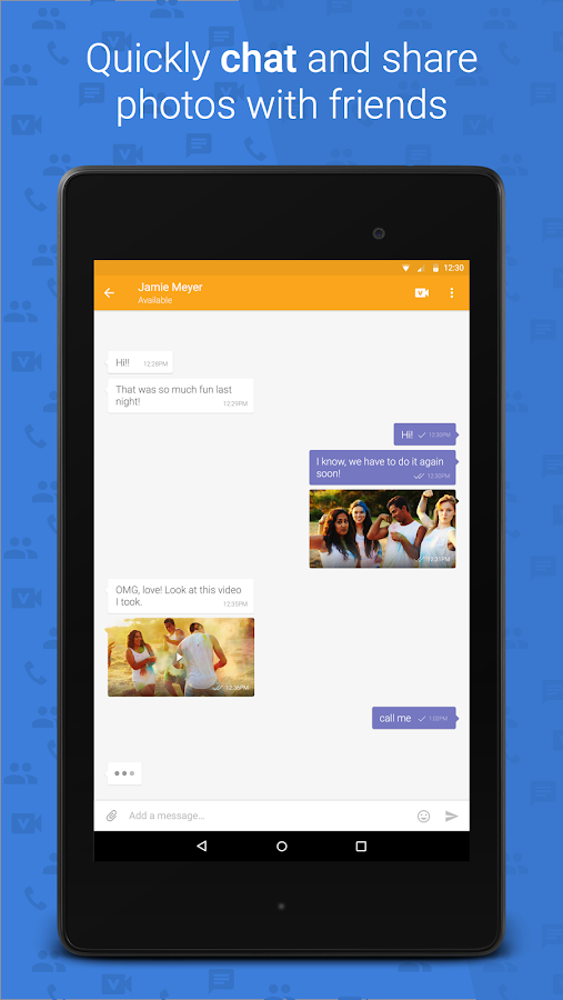 ooVoo Video Call, Text & Voice- screenshot