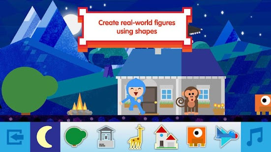 Pocoyo Shapes Free- screenshot thumbnail