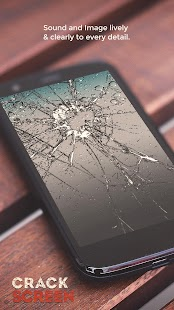 Broken Screen Prank & Cracked Screen Phone Fire 3D - náhled