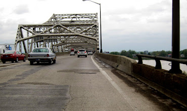 Photo: Welcome to Indiana, or better put, leaving Louisville = end of traffic and congestion.