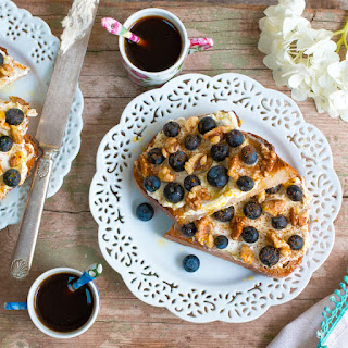 Blueberry Walnut Toast
