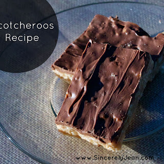 Peanut Butter Chocolate Scotcheroos Recipes