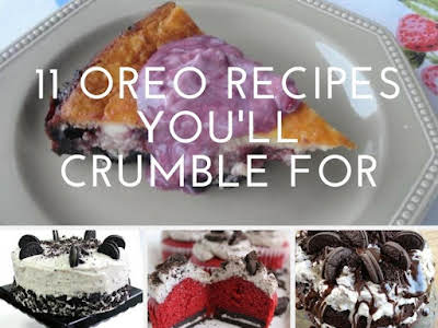 11 Oreo Recipes You'll Crumble For