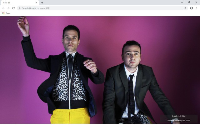 The Presets New Tab & Wallpapers Collection