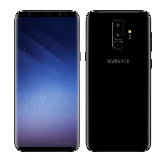 Samsung Galaxy S9 Plus 64GB Midnight Black (A+)