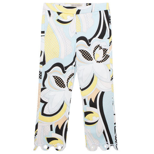 Primary image of Emilio Pucci Scalloped Hem Trousers