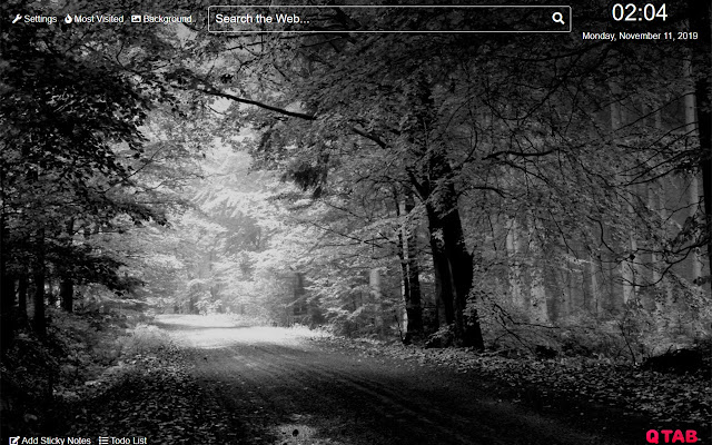 Black and white Wallpapers New Tab HD