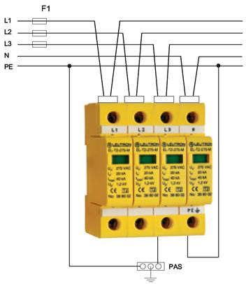 УЗИП для электрической сети класса 2