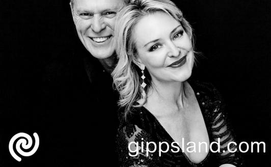 Musical theatre stars, Rachel Beck & Michael Cormick