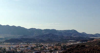 Photo: San Juan and mountains from fort