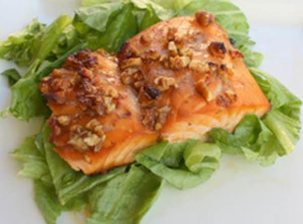 Orange Pecan Salmon