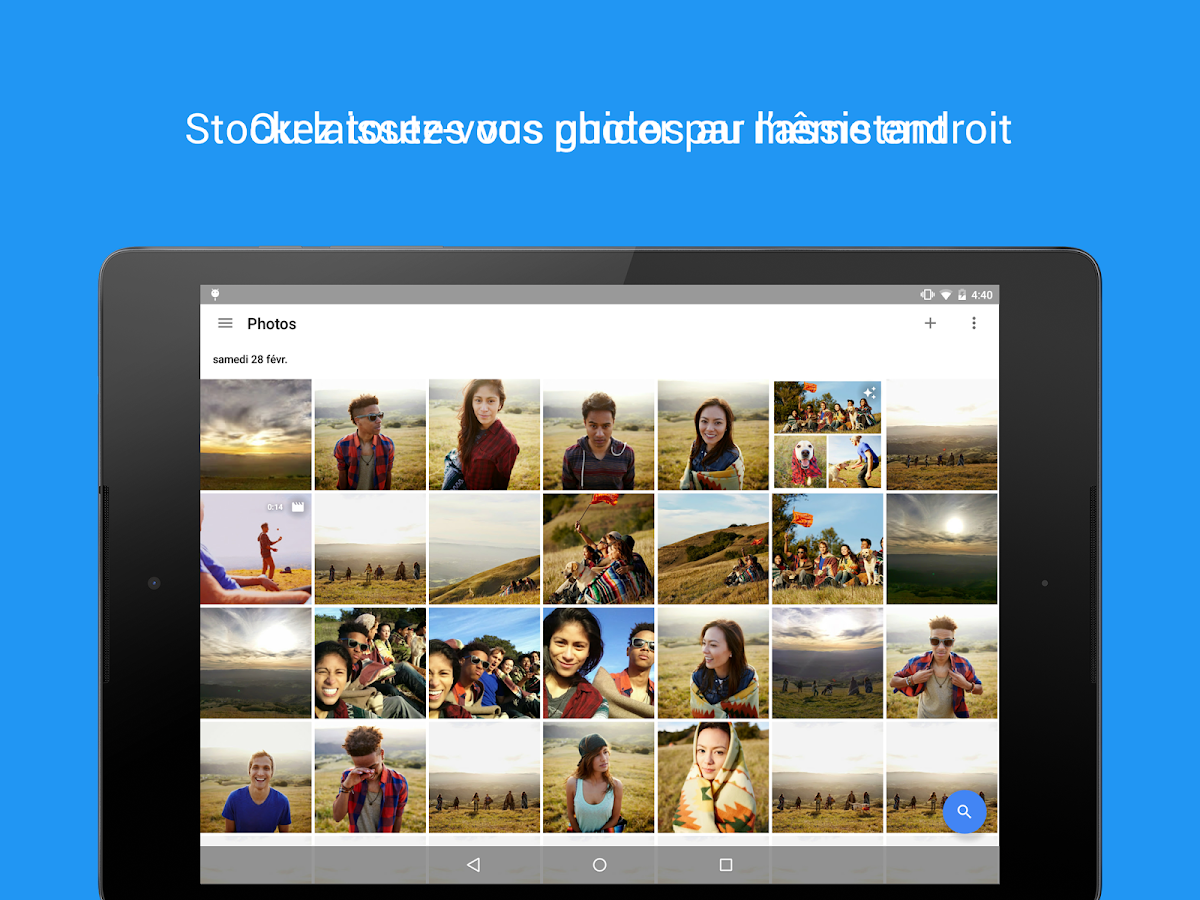 Google Photos – Capture d'écran