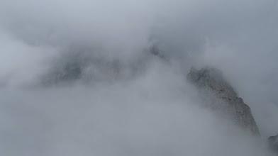 Photo: Lo Jof di Montasio coperto dalle nuvole