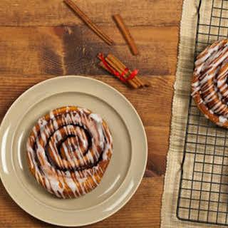 Homemade Cinnamon Rolls.