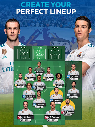 Real Madrid Fantasy Manager'18- Real football live 7.30.004 screenshots 12