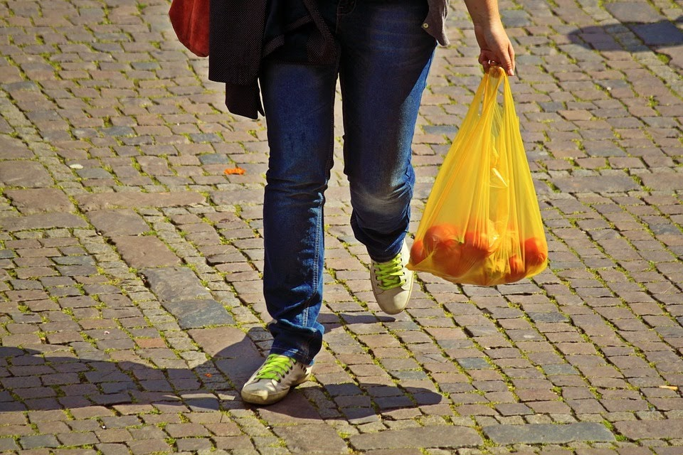 把剩餘的塑膠袋好好利用一下