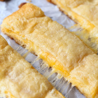 Easiest Cheesiest Breadsticks.