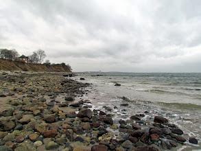 Photo: Die Steine, die hier zu sehen sind, liegen normalerweise unter dem Wasser.