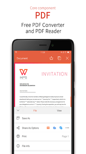 WPS Office - Word, Docs, PDF, Note, Slide & Sheet  screenshots 4