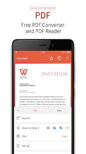 WPS Office - Word, Docs, PDF, Note, Slide & Sheet– captură de ecran miniatură