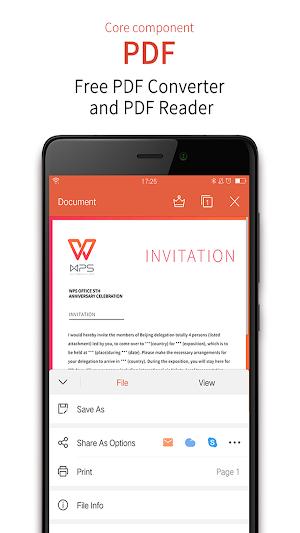 WPS Office + PDF 11.1.5 (Mod) APK