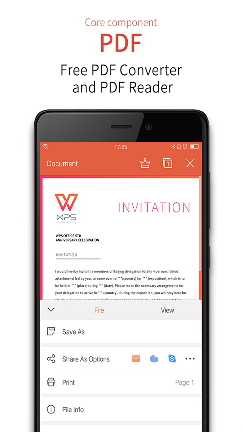 WPS Office - Word, Docs, PDF, Note, Slide & Sheet Screenshot 3