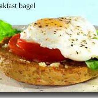 Breakfast Bagel.