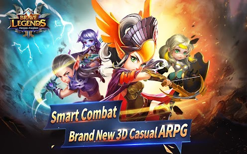 Brave Legends (CBT) v1.2.4 MOD APK (Menu/God Mode/One Hit)