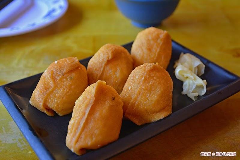 南投福井日式料理豆皮壽司