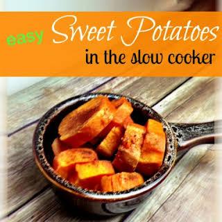 Slow Cooker Recipe for Sweet Potato (Yams).