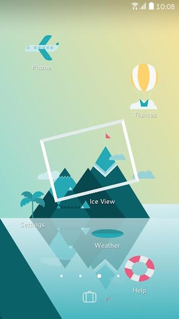 Sense Home Launcher-News,Theme screenshot 3