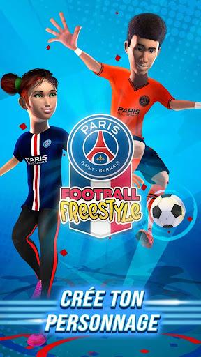 PSG Football Freestyle  captures d'écran 2