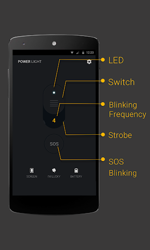 Power Light – Flashlight LED v1.2.9 [Ad Free]