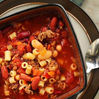 Olive Garden Pasta E Fagioli Soup