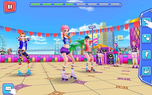 Game Roller Skating Girls - Dance on Wheels APK for Windows Phone