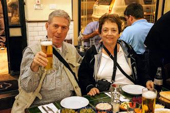 Photo: First dinner at Steakiat Hatzot (Midnight Grill) 'chetsi birah'
