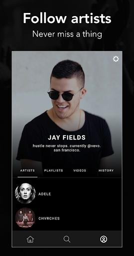 Vevo - Music Video Player Screenshot