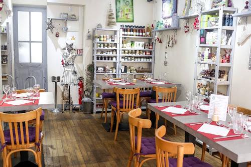 Salle du restaurant à Pontoise L'arbre Blanc