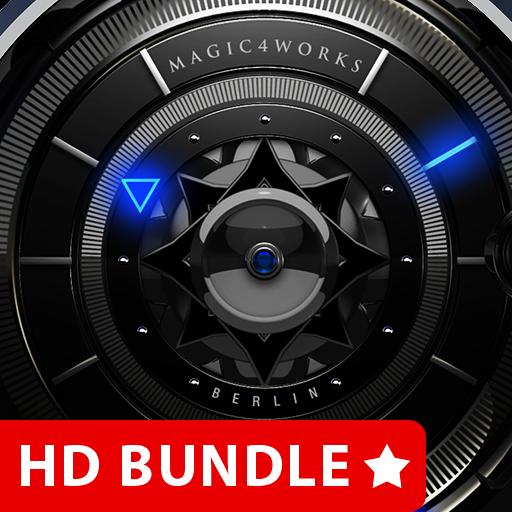 HD Analog Clock Bundle LWP 6