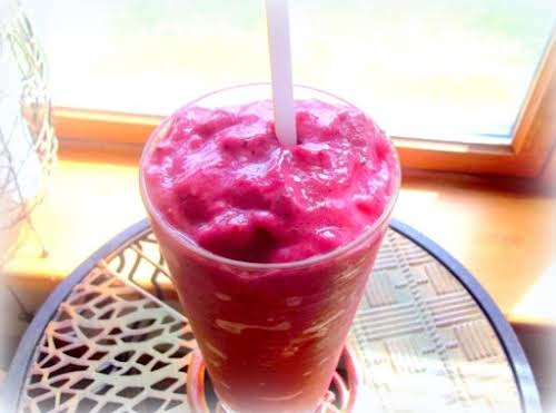 """Jeanne's Very Berry Smoothie """"Tart, sweet, satisfying and good for you too!..."""